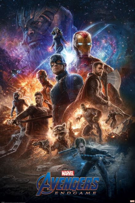 Avengers: Endgame From The Ashes 61x91,5cm Movie Poster
